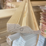 Architrave Softwood U/S Redwood (Price Per Mtr - Click for Range)