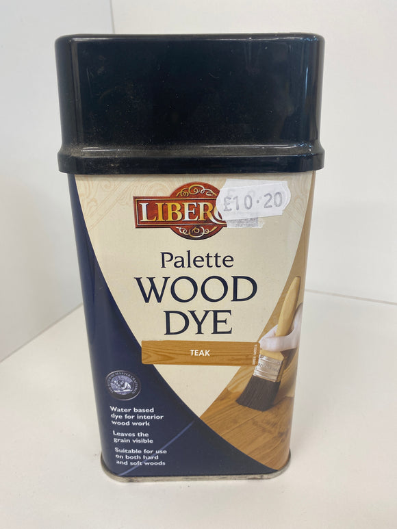 Pallet Wood Dyes Liberon - (Click for Range)