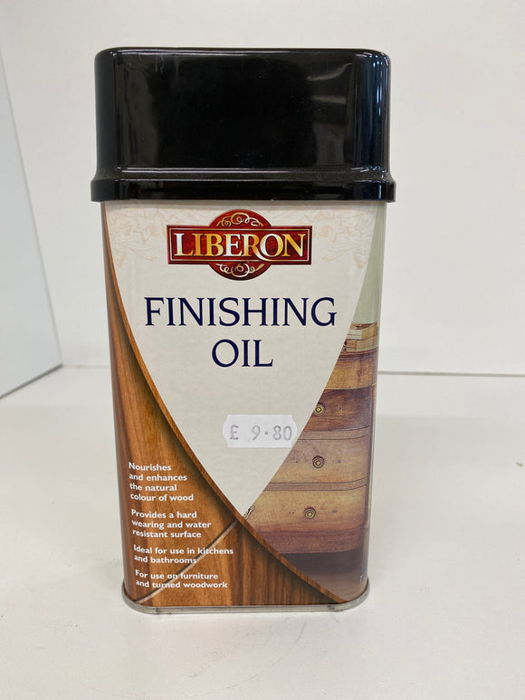 Finishing Oil Liberon - (Click for Range)
