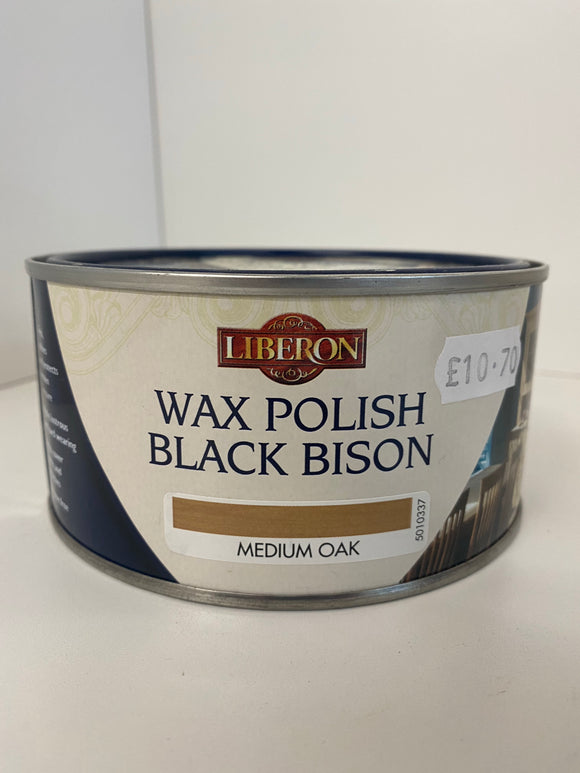 Black Bison Wax Liberon Paste - (Click for Range)