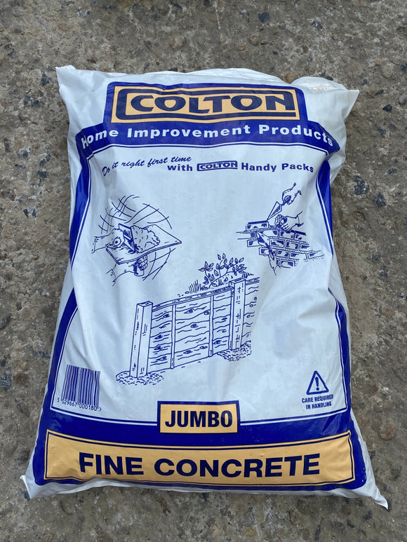 Fine Concrete Mix Jumbo