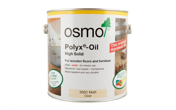 Polyx Oil Matt Clear - (Click for Range)