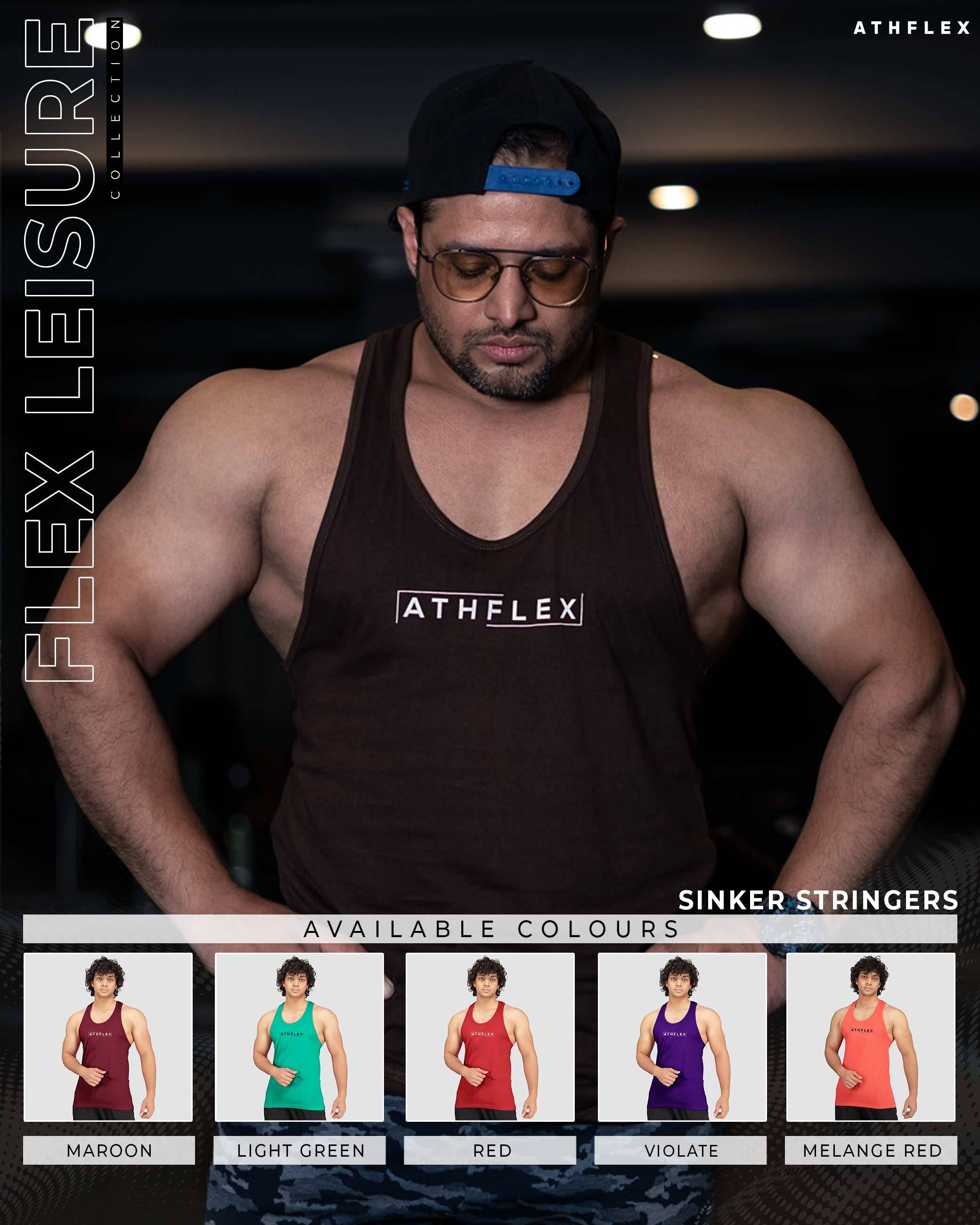 Flex Leisure Sinker Stringers(Red) Athflex