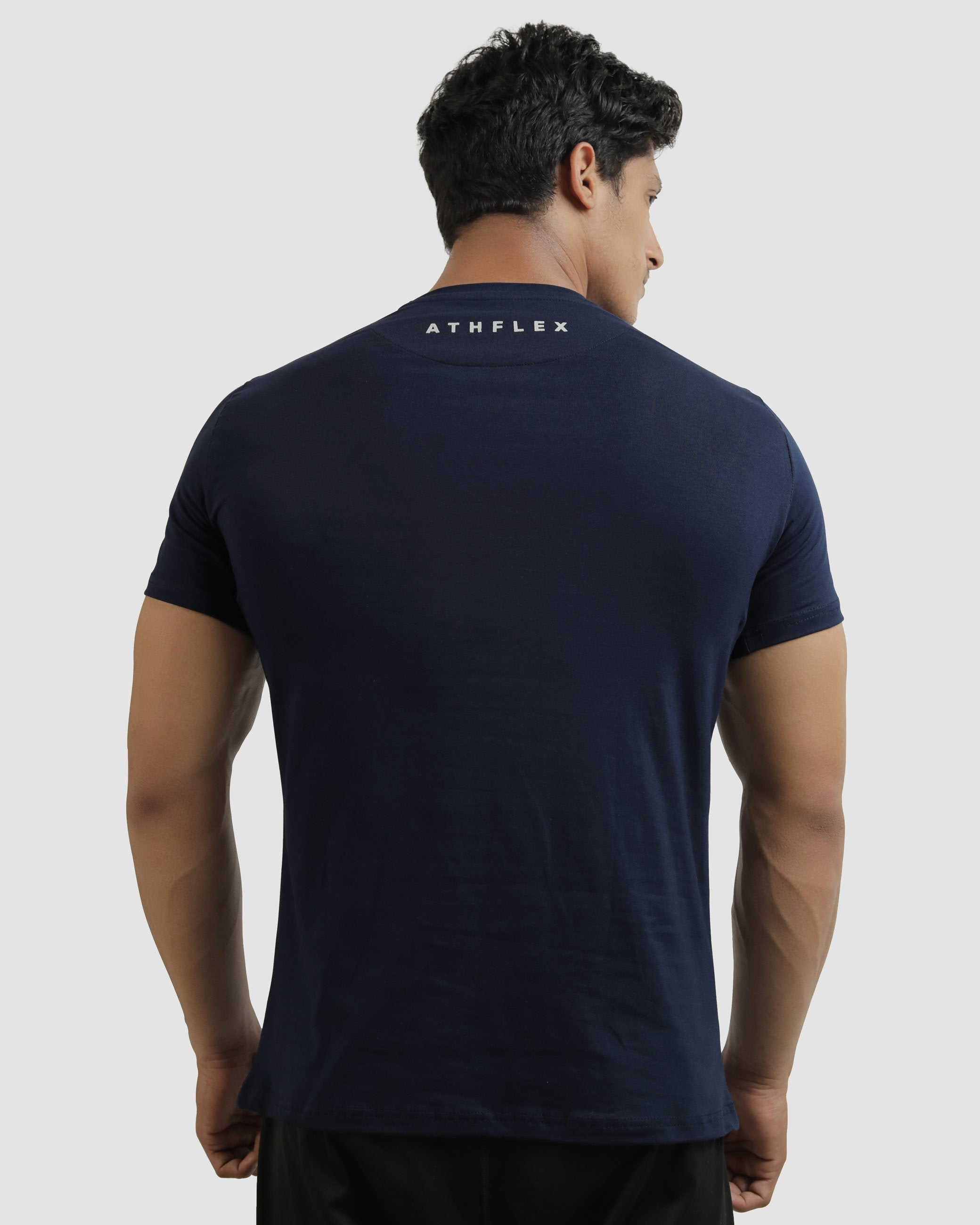 Flex On T-Shirt (Midnight Blue) Athflex