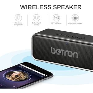 Betron D51 Bluetooth Wireless Speaker, Stereo Sound - The Link Oldham