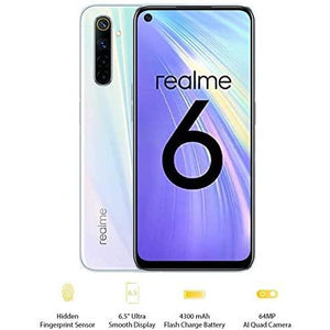 "realme 4GB + 64GB, 6.5"" Ultra smooth display, Sim Free, 64MP AI Quad Camera - The Link Oldham"