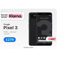 Refurbished, Google Pixel 3, 64GB, 4GB RAM, Unlocked, 12 Months Warranty - The Link Oldham