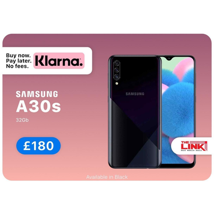 Brand New Samsung A30s, 32GB, Unlocked to any Network, Dual Sim, 24 Months Samsung Warranty - The Link Oldham