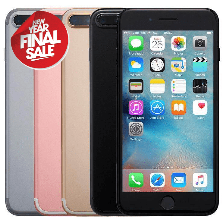Apple, iPhone 7 Plus, 32GB/128GB, Unlocked to any Network, 6 Months Warranty - The Link Mobiles
