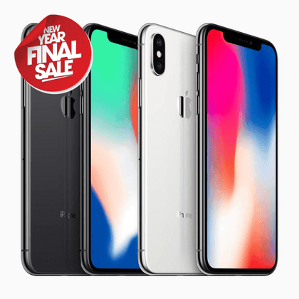 Apple, iPhone X, 64GB, Unlocked to any Network, 12 Months Warranty - The Link Oldham