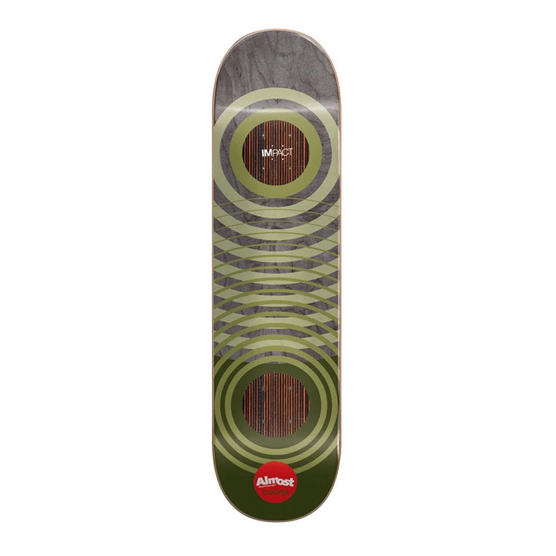"Almost Skateboards Cooper Wilt Natural Rings Impact Support 8"" Deck"