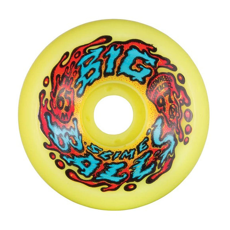 Slime Balls Big Balls Yellow 65mm Wheels