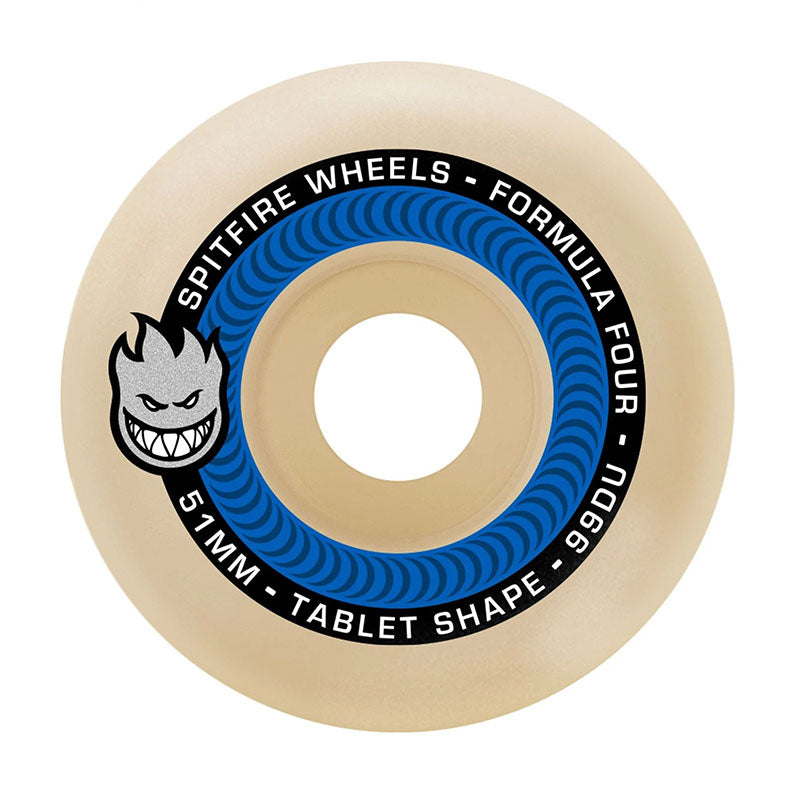 Spitfire Formula 4 Tablet 99D Wheels