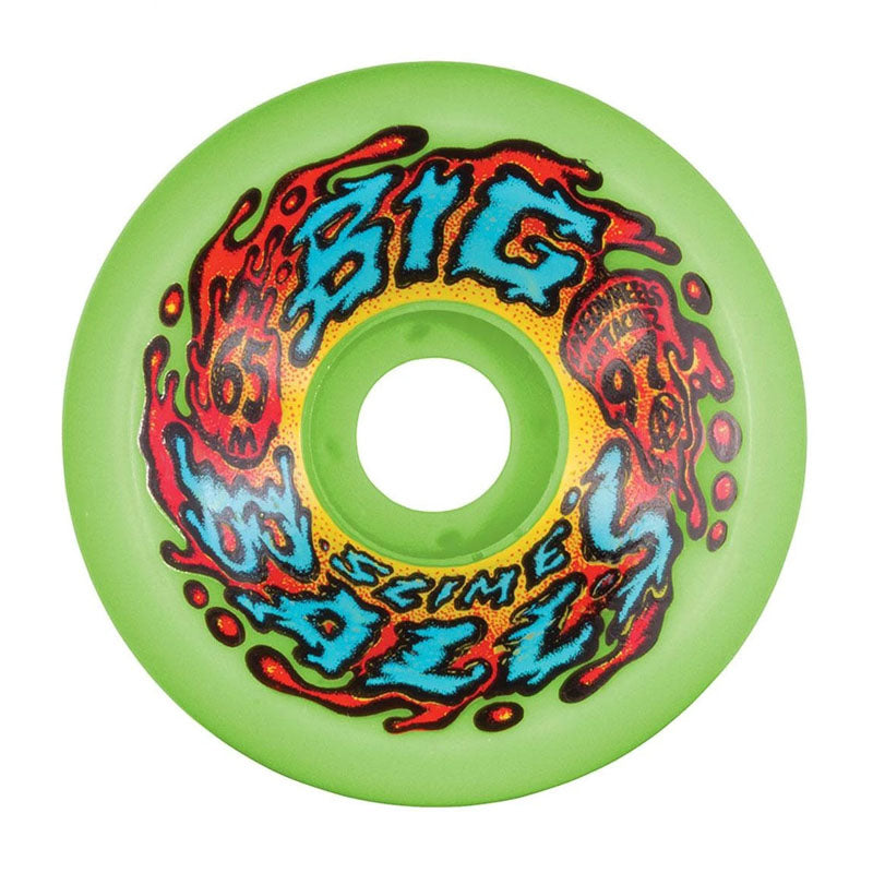 Santa Cruz Slime Balls Big Balls Green 65mm Wheels