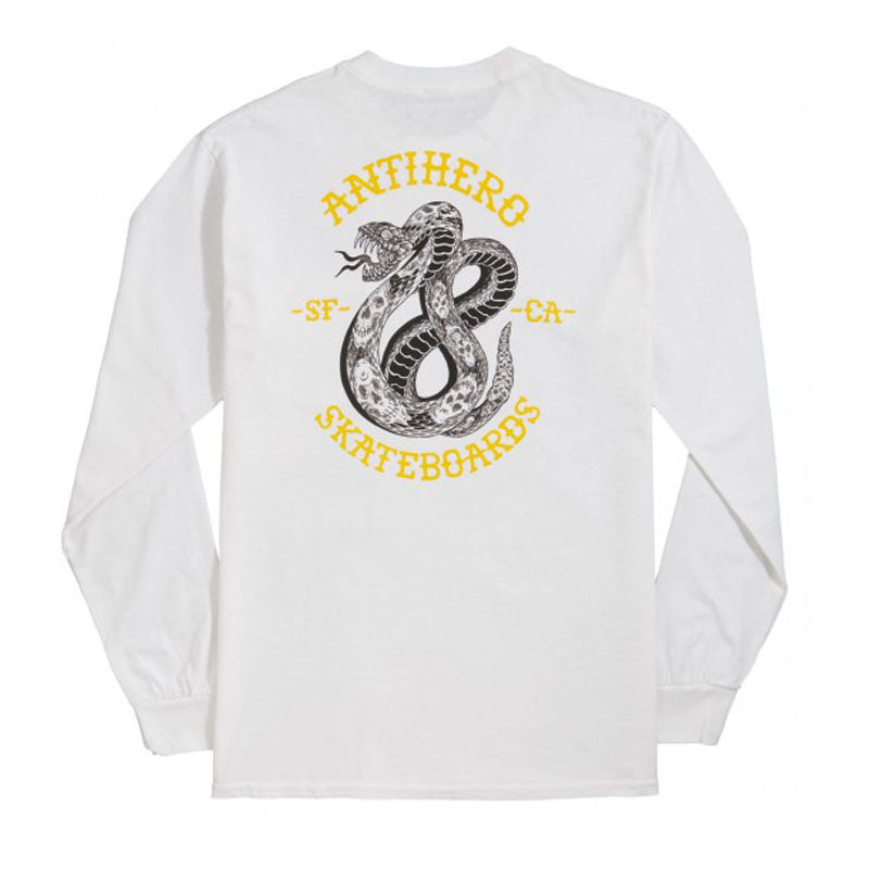 Anti-Hero Eighteen L/S Pocket Tee