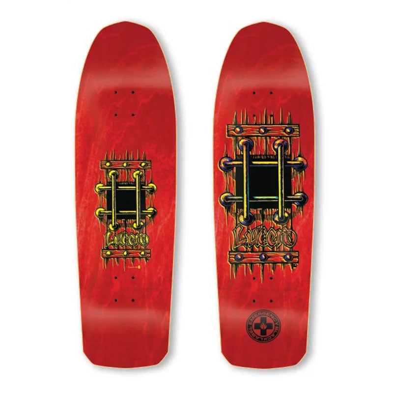 "Black Label John Lucero M.I.A 9.25"" Deck"