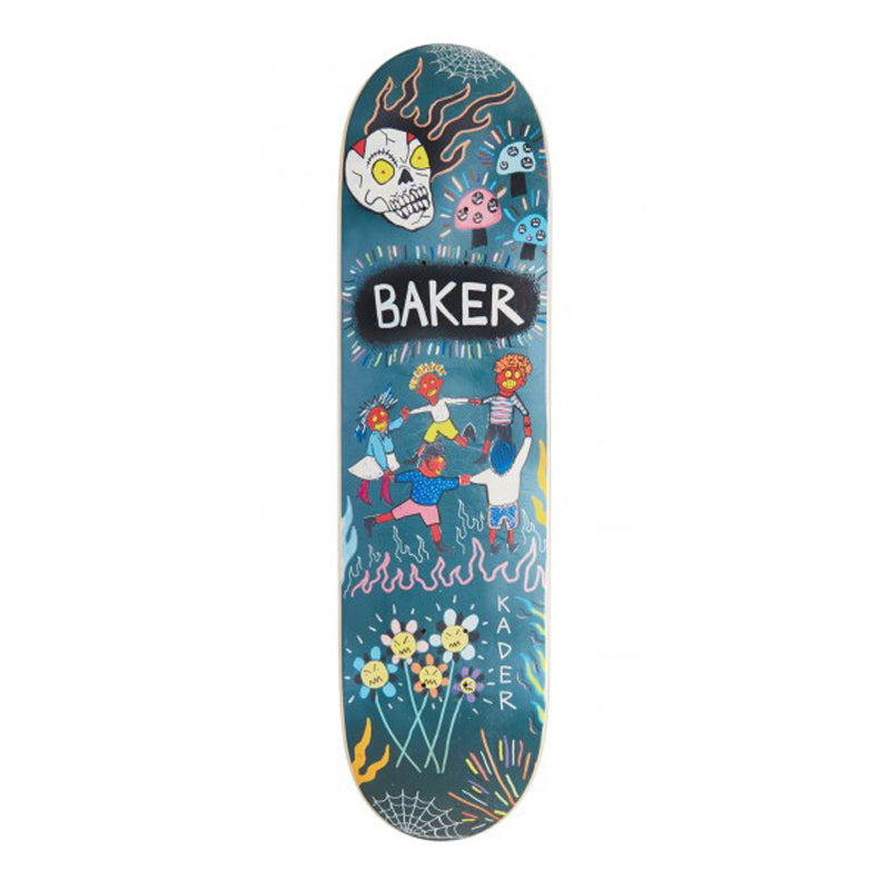 "Baker Kader Sylla Happy Campers 8.25"" Deck"