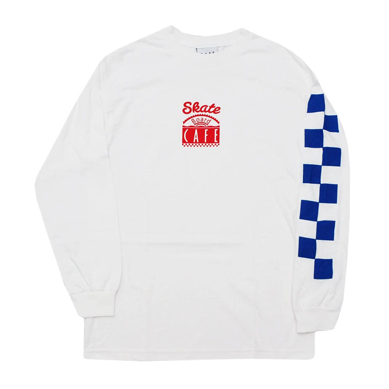 Skateboard Cafe Check L/S Tee