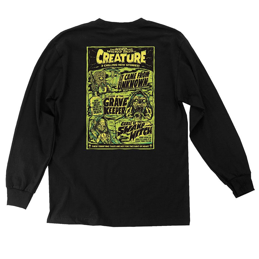 Creature Wicked Tales Black L/S Tee