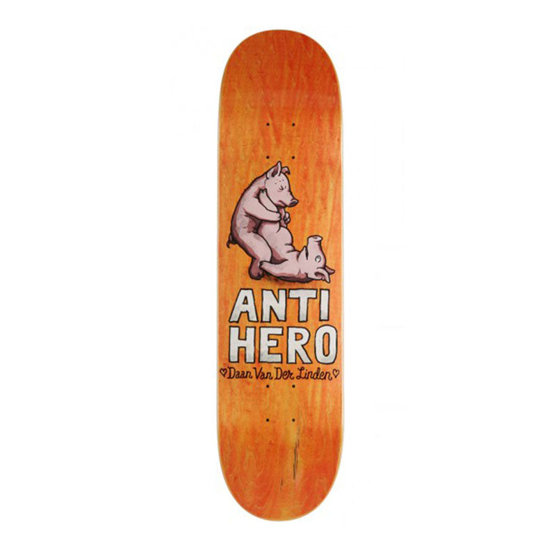 "Anti-Hero Daan Van Der Linden Lovers II 8.38"" Deck"
