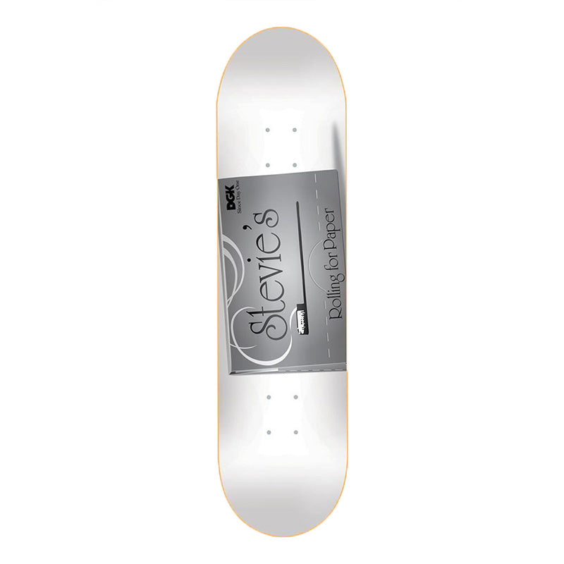 "DGK Skateboards Rolling Papers Stevie 8.06"" Deck"