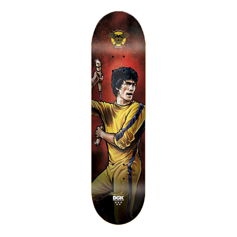 "DGK Bruce Lee Technique 7.8"" Deck"