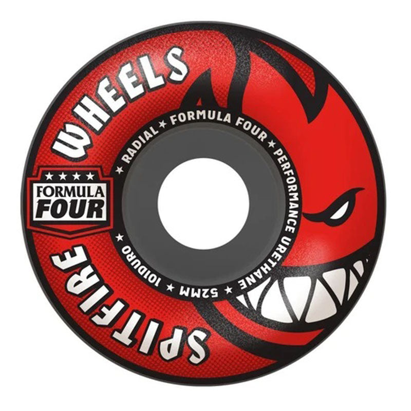 Spitfire Formula 4 101 Afterburn Radial 52mm Wheels