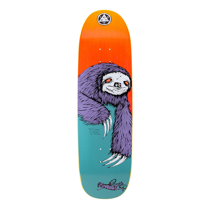 "Welcome Skateboards Sloth On Boline 9.25"" Deck"