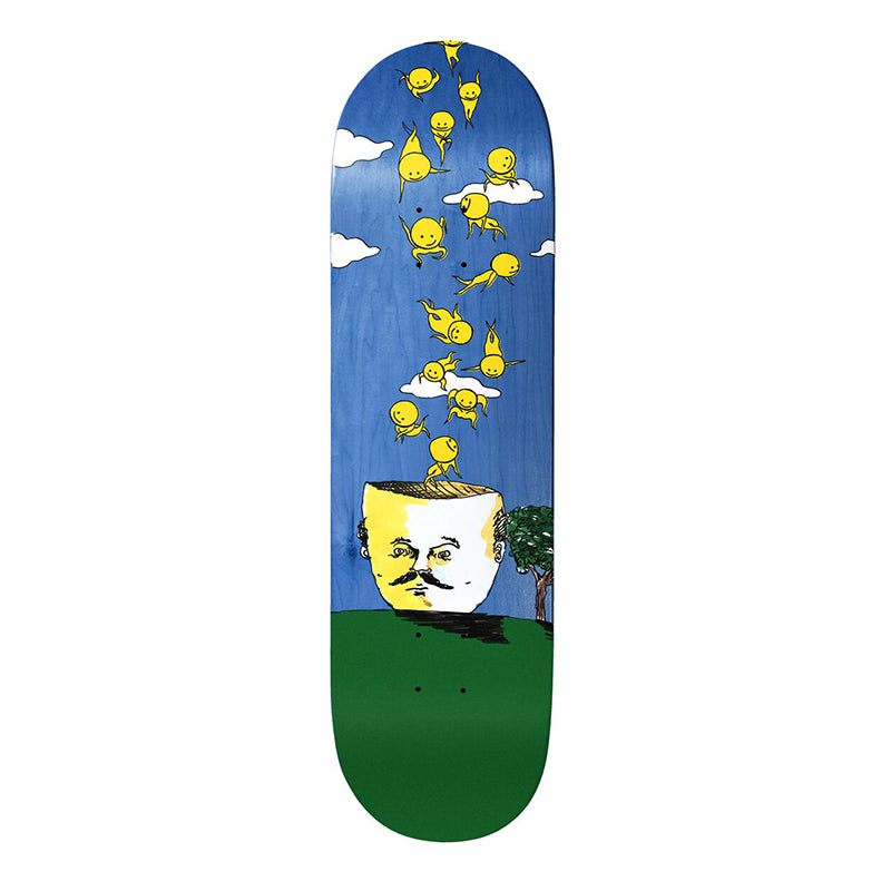 "Baker Skateboards Jacopo Carozzi Picnic Head 8.25"" Deck"