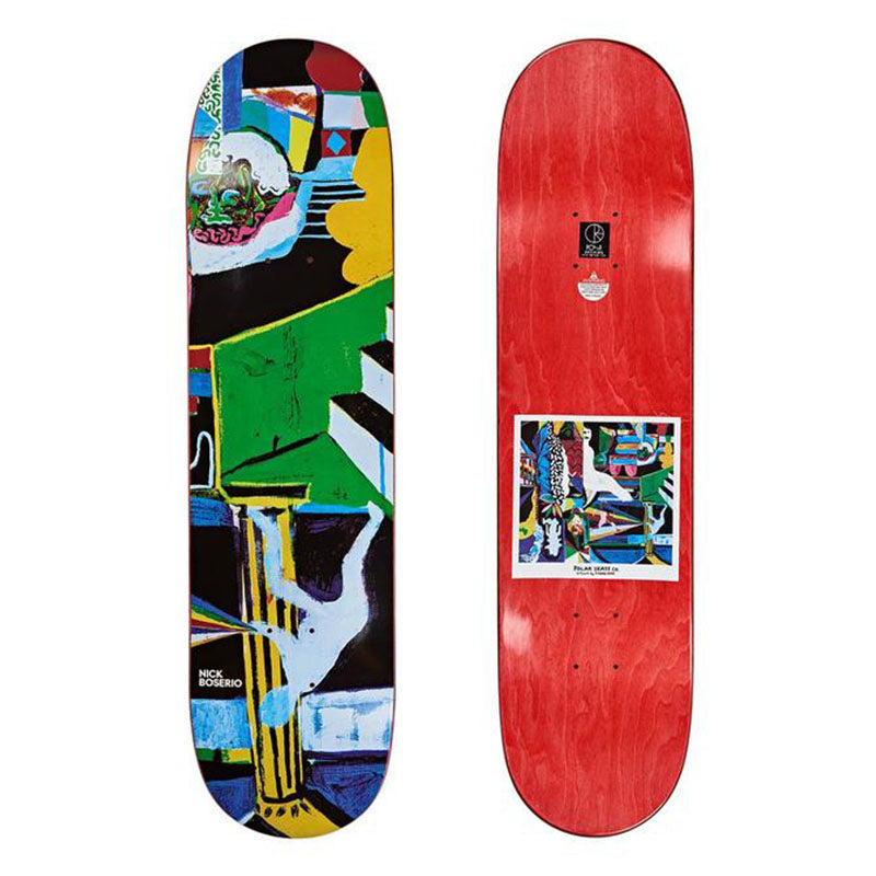 Polar Skate Co. Nick Boserio Memory Palace Deck