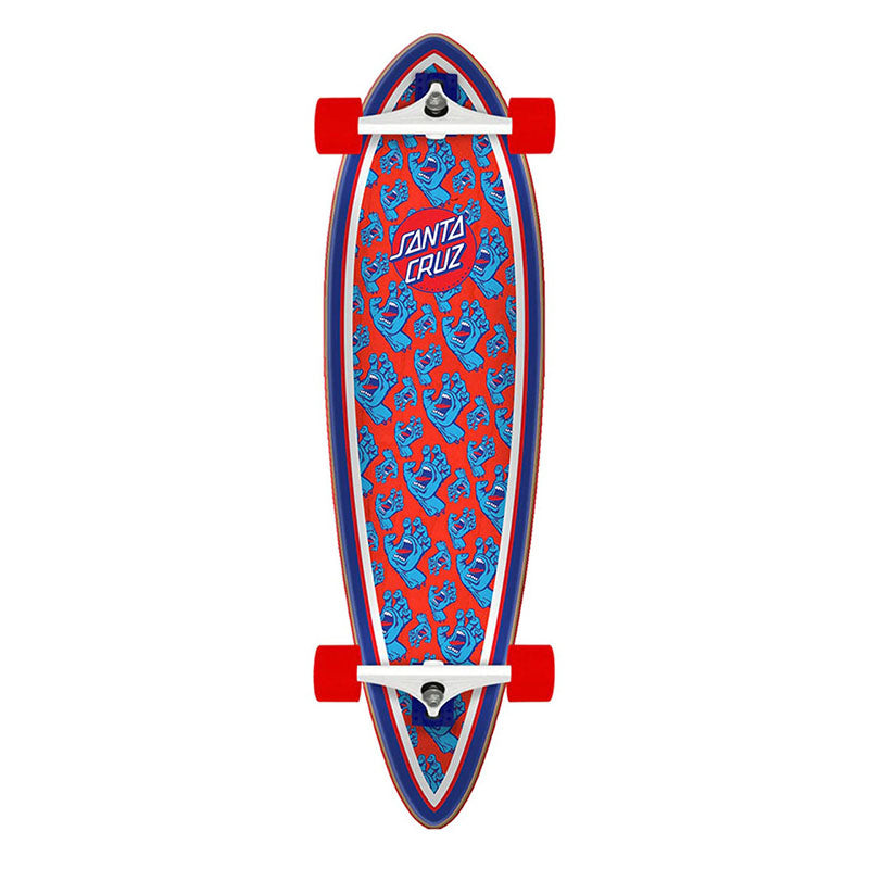 "Santa Cruz Hands All Over Pintail 9.2"" Cruzer Complete"