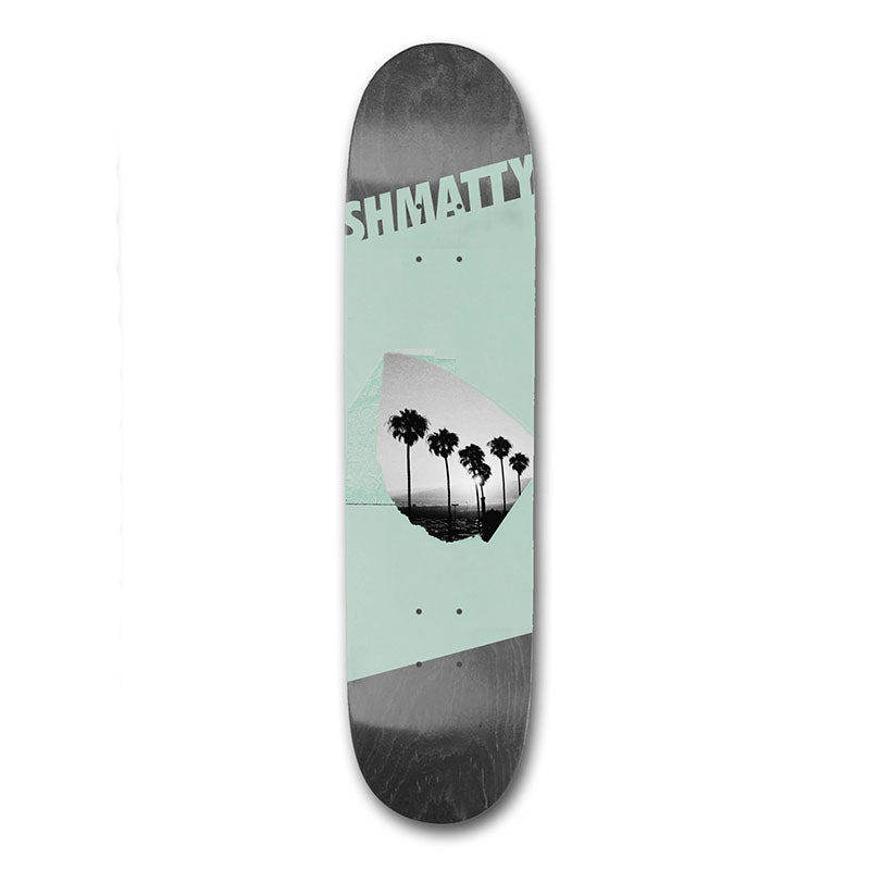 "Visual Skateboards Shmatty Chaffin Oasis 8.1"" Deck"