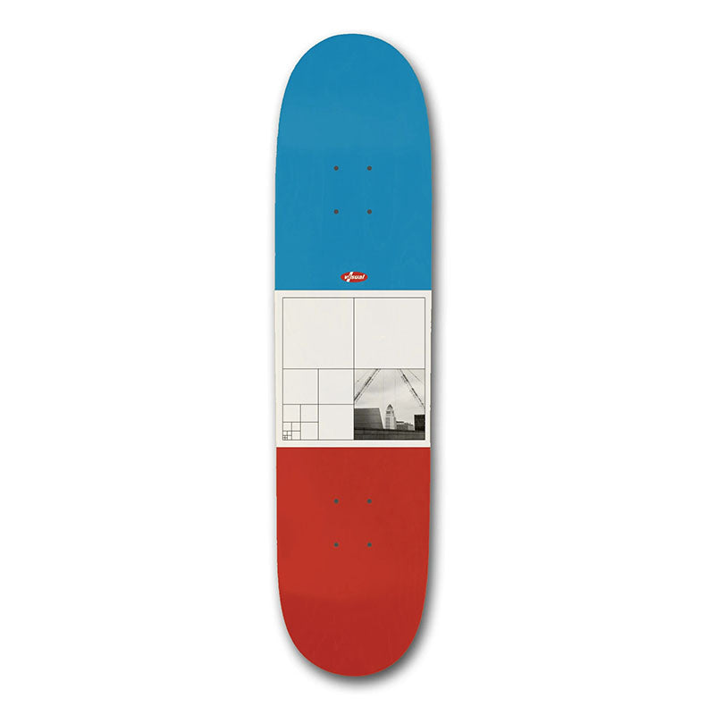 "Visual Skateboards Squared 8.5"" Deck"