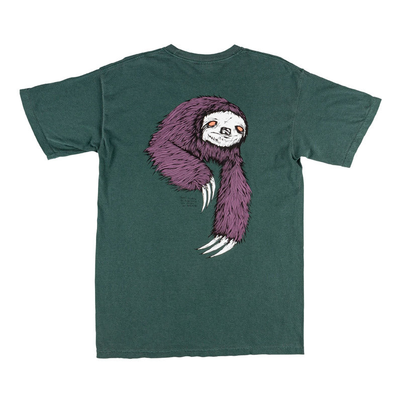Welcome Skateboards Sloth Garment Dyed S/S Tee
