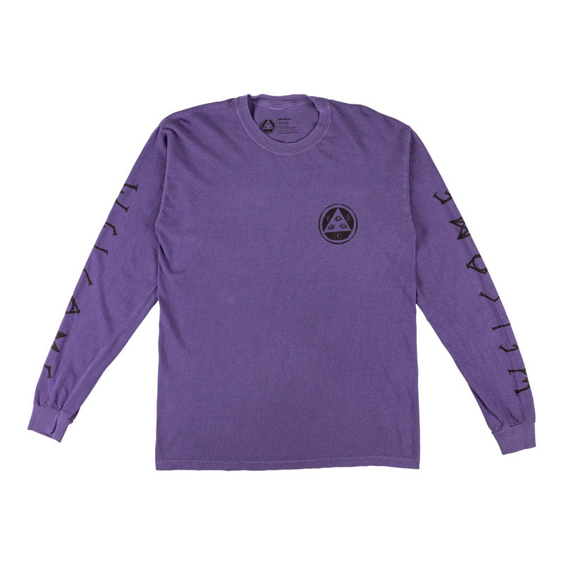 Welcome Skateboards Tali-Scrawl Garment-Dyed L/S Tee
