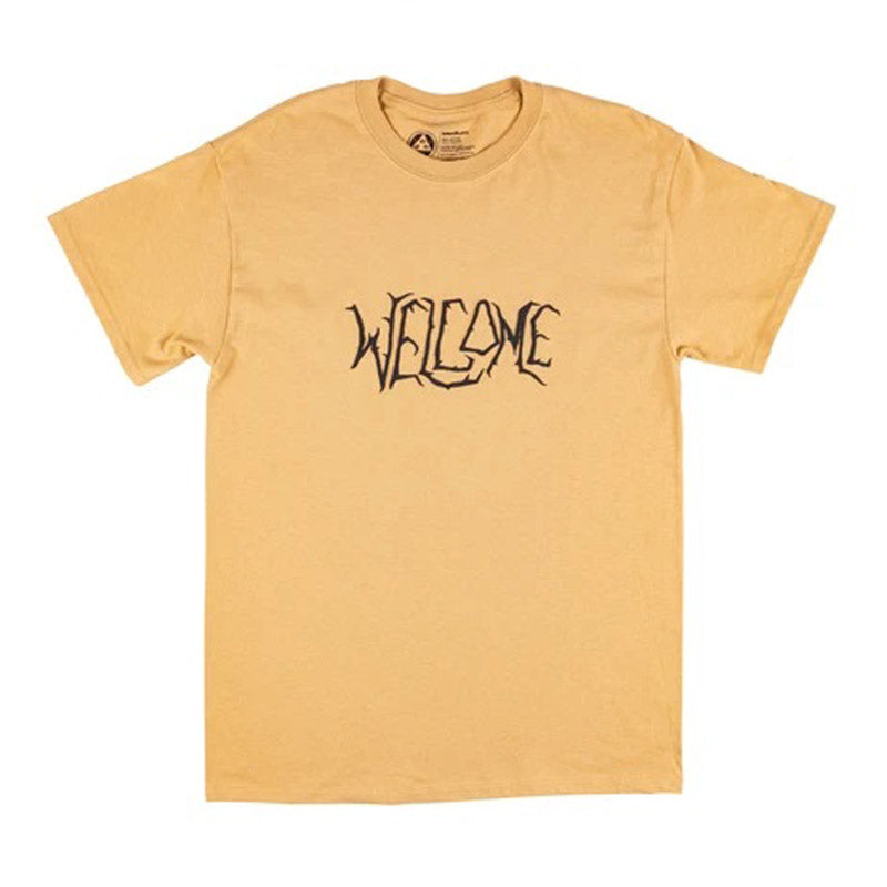 Welcome Skateboards Black Lodge S/S Tee