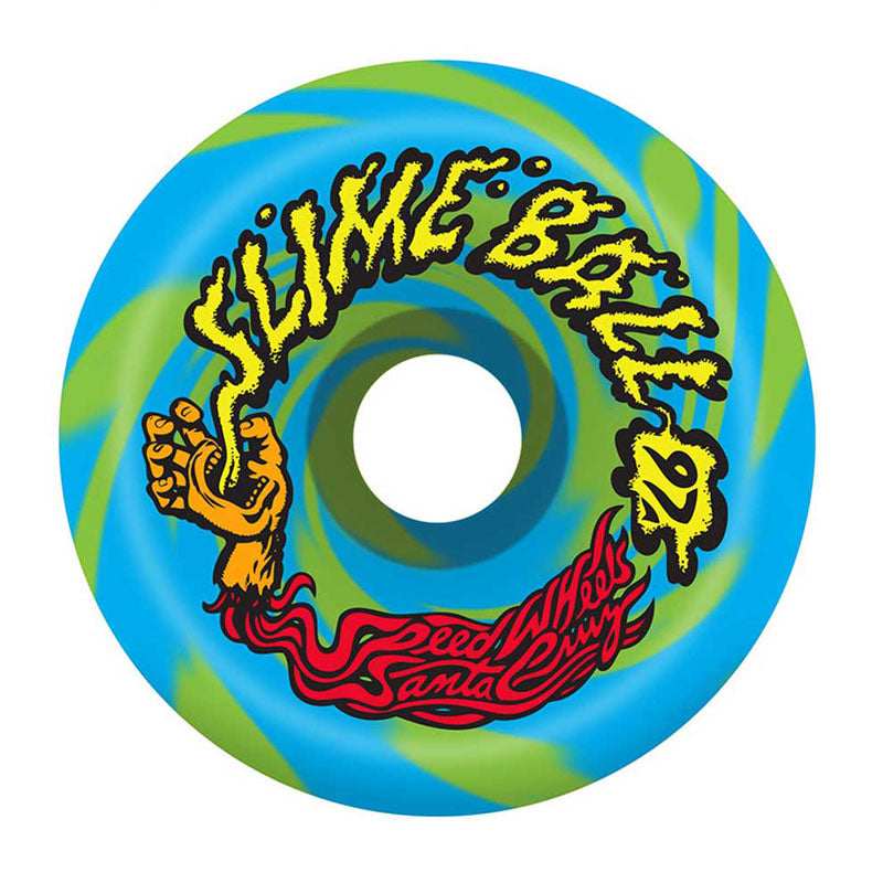 Santa Cruz Slime Balls Vomits 60mm Swirl Wheels