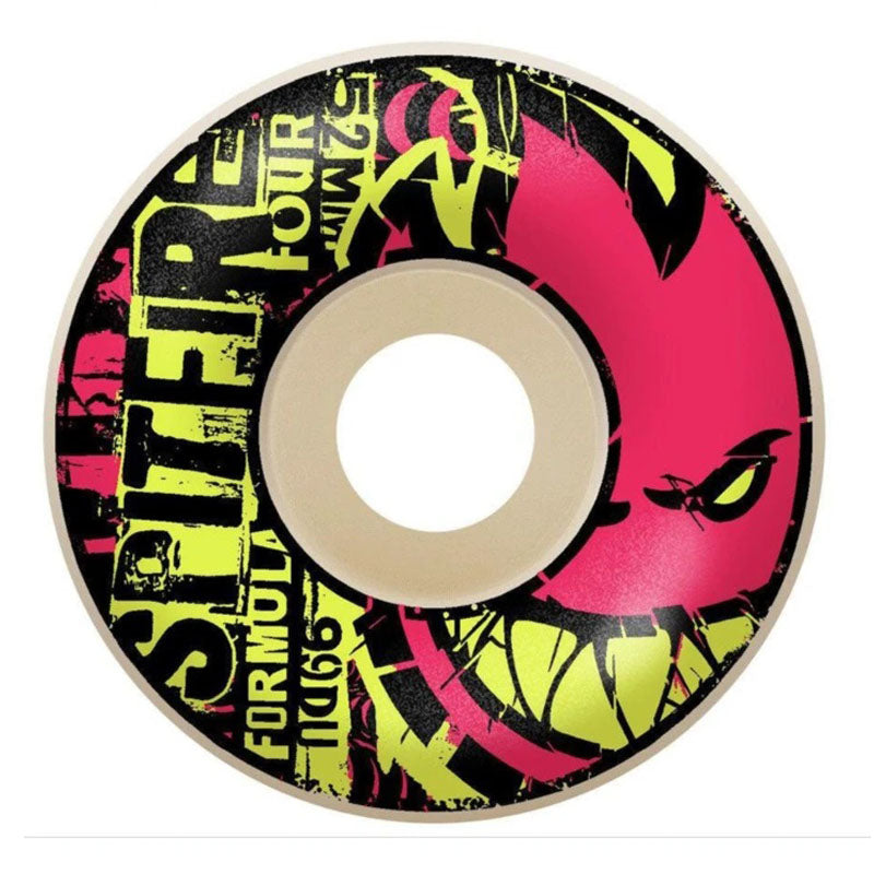 Spitfire Formula 4 Ransom Radial 54mm Wheels