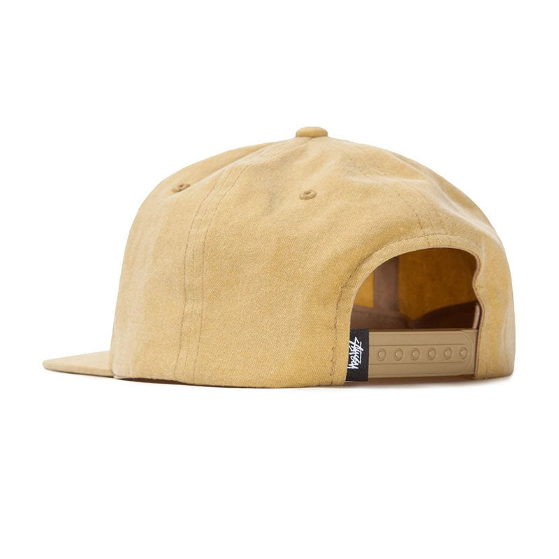 Stussy Pigment Washed Canvas Snapback Cap
