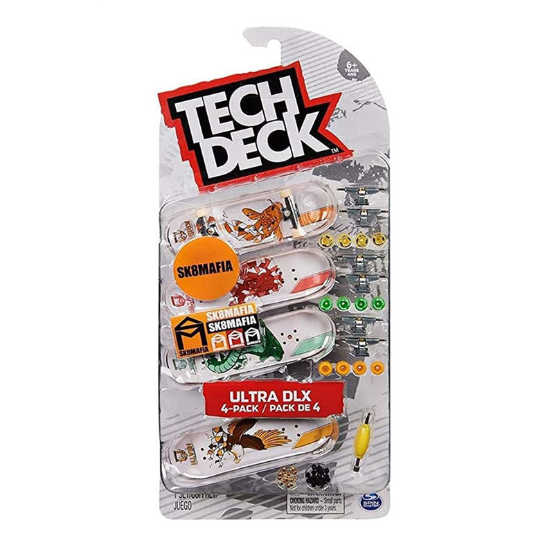 Tech Deck Ultra Dlx 4 Pack Set