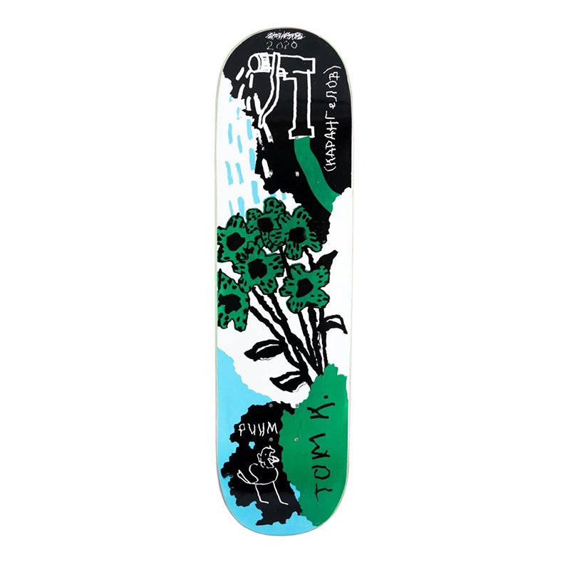 "Wknd Skateboards Tom Karangelov's Garden 8.25"" Deck"
