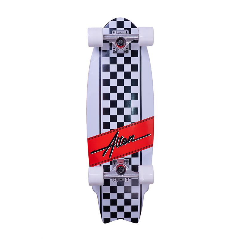 "Swallow Tail 27"" Complete Skateboard"