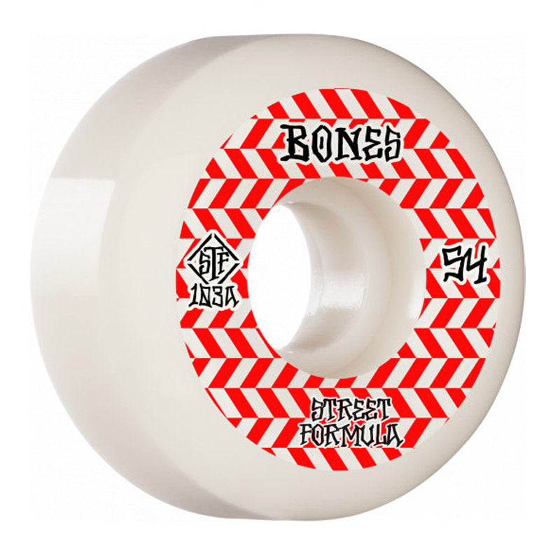 Bones Patterns STF V5 54mm Sidecut Wheels