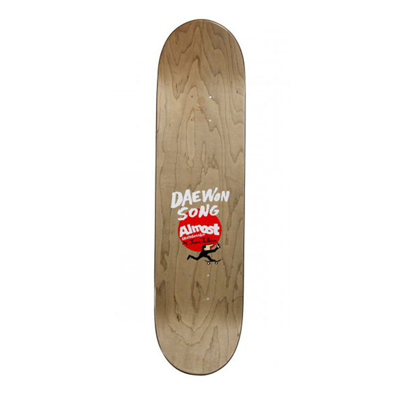 "Almost Skateboards Daewon Song x Jean Jullien Stairs 8.125"" Deck"