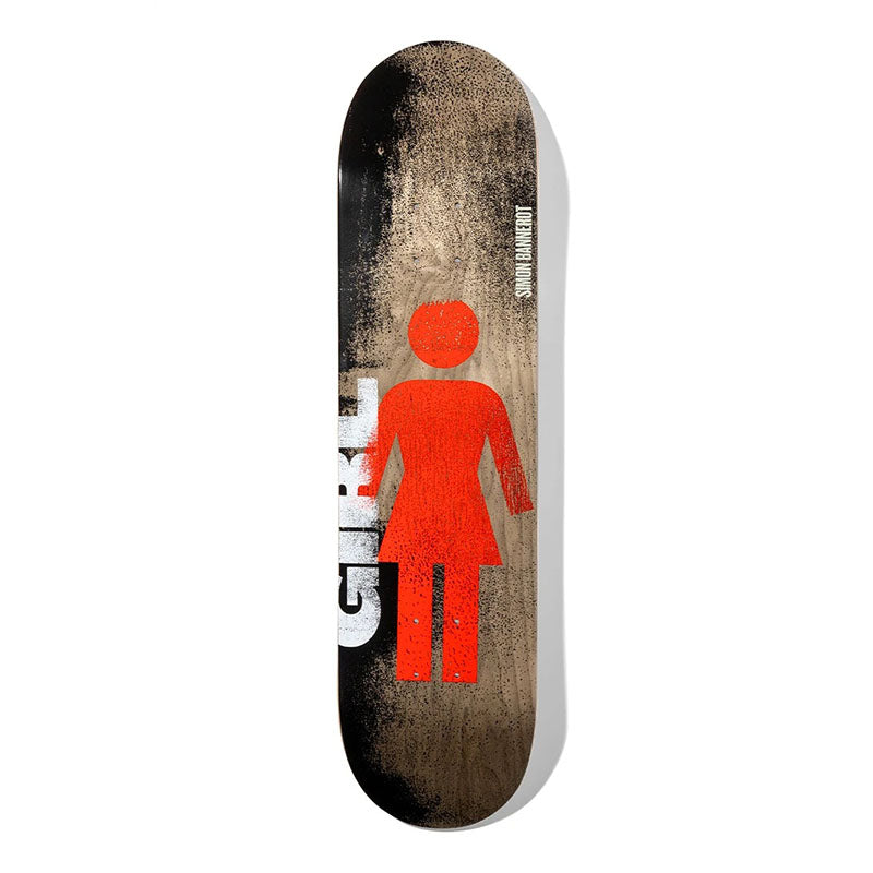 "Girl Skateboards Simon Bannerot Roller OG 8"" Deck"