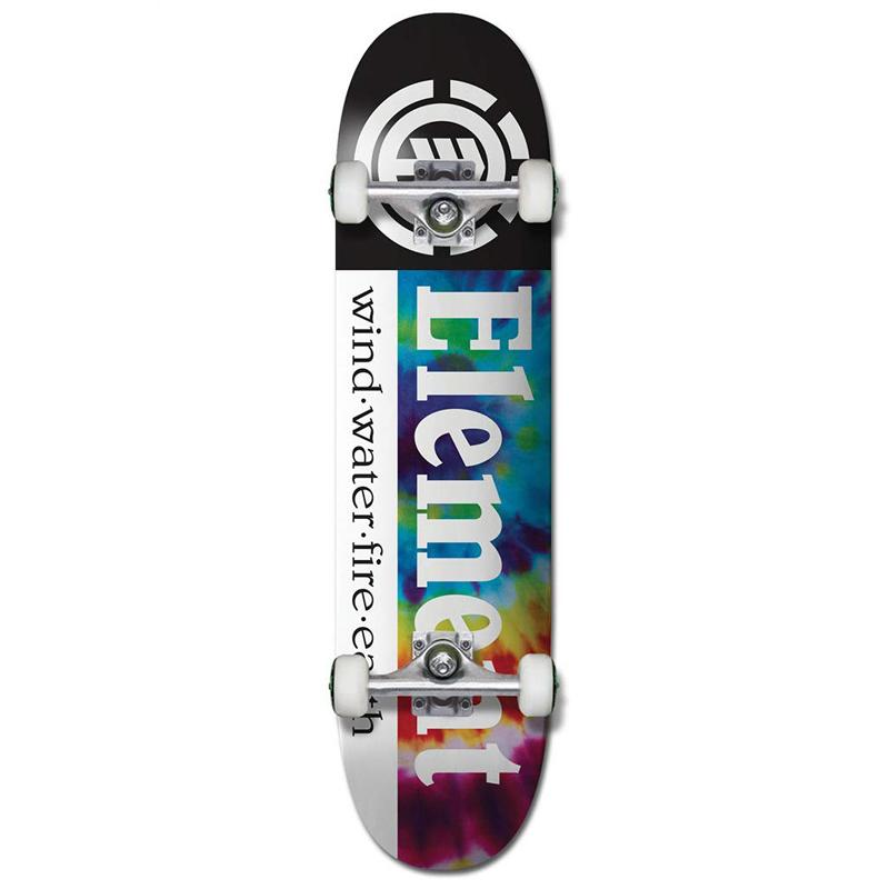 "Element Tye Dye Section 7.75"" Complete Skateboard"