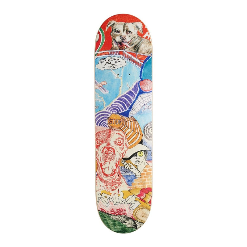 "Riley Hawk Thoughts 8.25"" Deck"