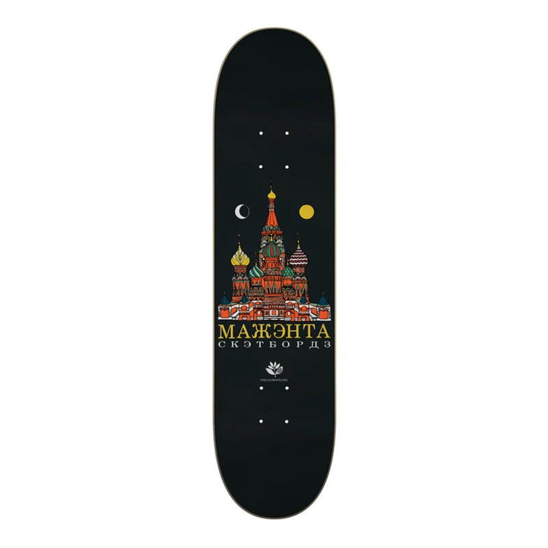 "Magenta Moscou Visual Travelling Collab 7.875"" Deck"