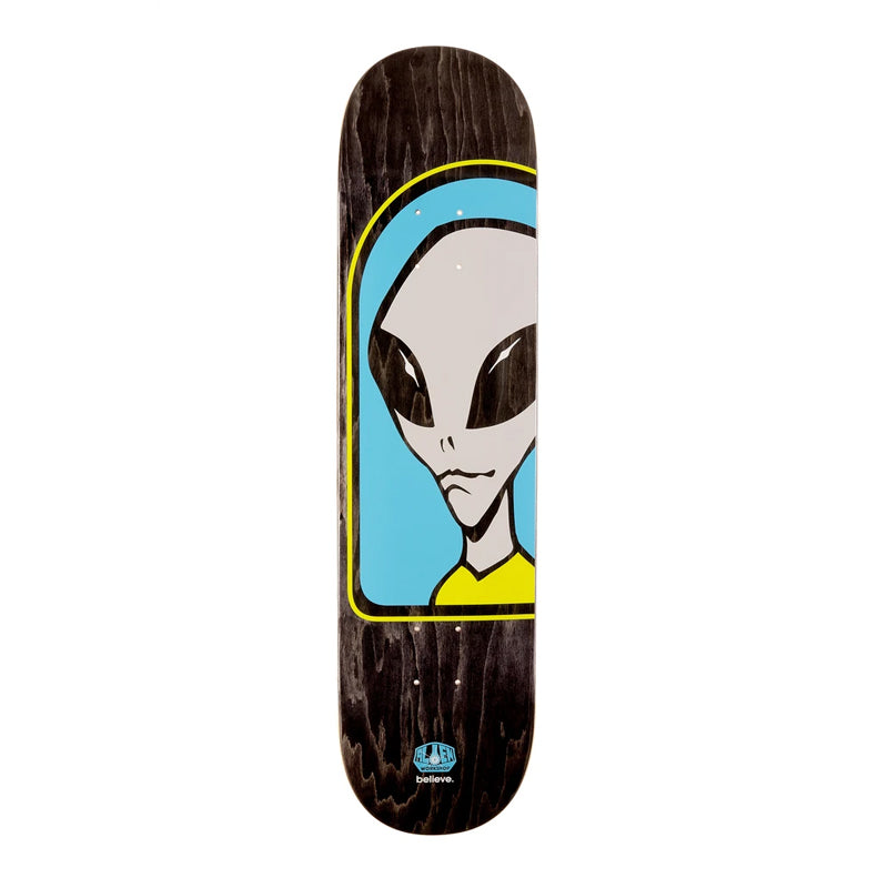"Alien Workshop Believe Full Blue 8"" Deck"