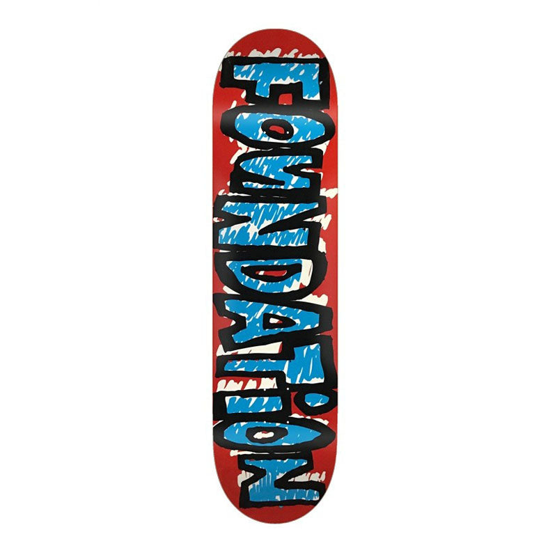 Foundation Skateboards Scribble Deck